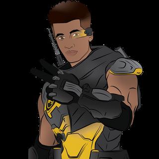 Jordan Fisher / Baptiste Overwatch Crossover