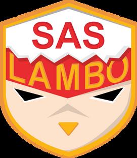 SAS Lambo New Logo Crest Light