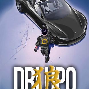 DrLupo Akira Poster Gold