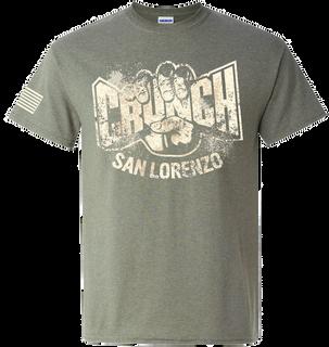 Crunch San Lorenzo Mock Up