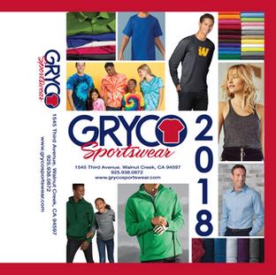 Gryco Sportswear Catalog Front to Back 2018