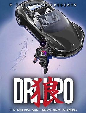 DrLupo Akira Poster