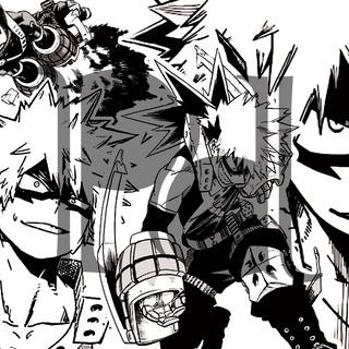 My Hero Academia Bakugo Coloring Page