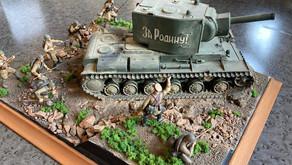 Выставка стендовых моделей, к 76-летию Победы Советского народа в Великой Отечественной войне