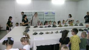В музее М.В.Фрунзе провели выставку стендовых моделей-копий боевой техники.