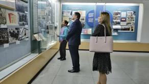 Посол Молдовы Андрей Негуца посетил Мемориальный музей М.В.Фрунзе