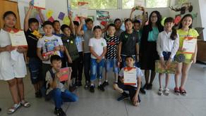 В доме-музее М.В.ФРУНЗЕ прошло праздничное мероприятие посвящённое дню защиты детей