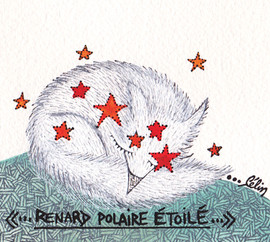 Renard polaire étoilé