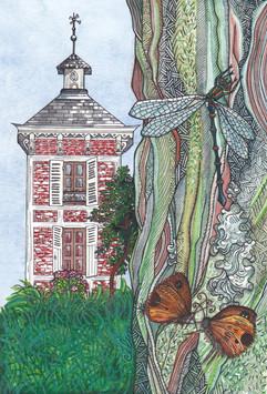 Un havre de nature, carte postale