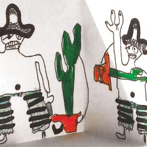 Livres accordéons, pirates