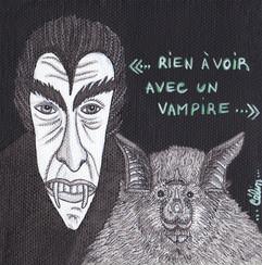 Rien à voir avec un vampire