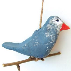 Oiseaux suspendus, à la manière de The Cute Garden