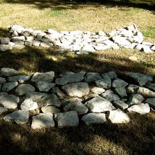 """Land-art pour le site surnommé """"Le baigne-chats"""" de Champigny-le-sec Rochereau (86170)"""