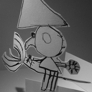 Sculptures en papier, sorcières