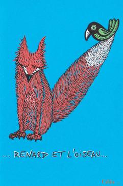 Renard et l'oiseau
