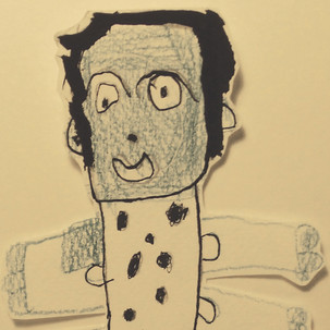 Sculptures en papier, Frankenstein