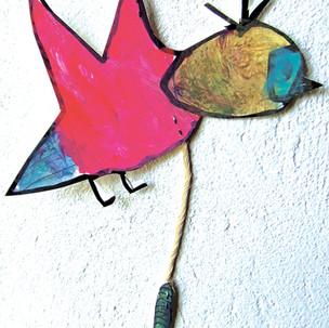 Mobiles, oiseaux