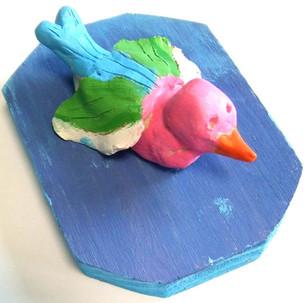 Sculptures, oiseaux