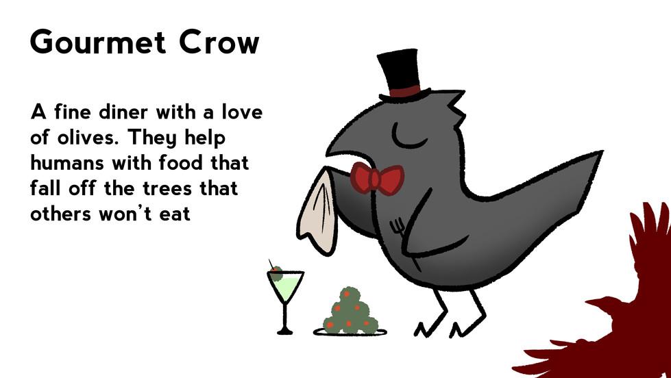 Gourmet Crow