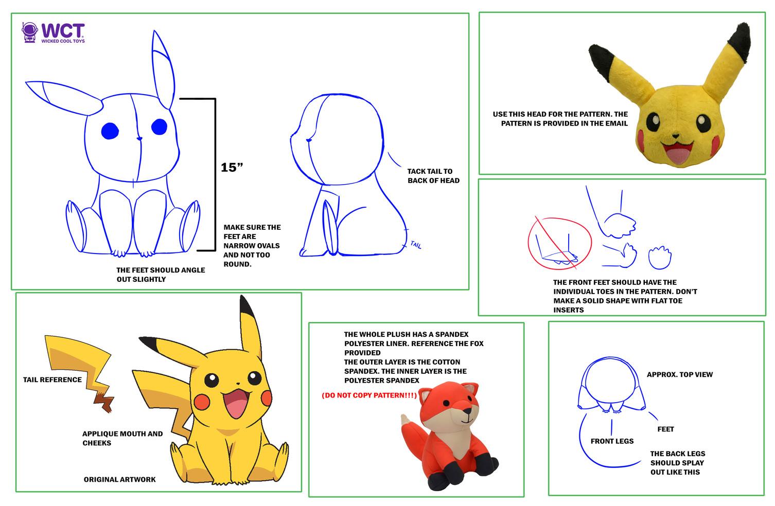 Jumbo Pikachu Design Package