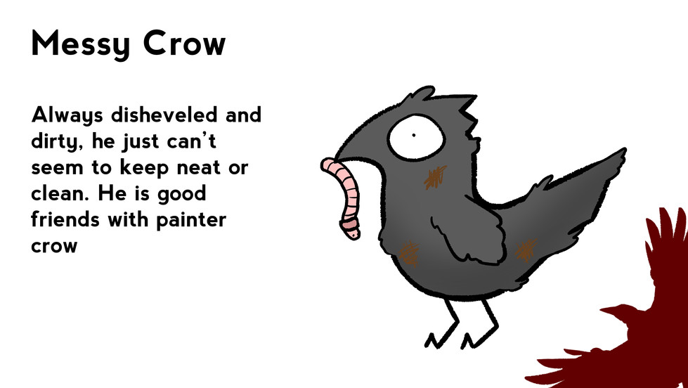 Messy Crow