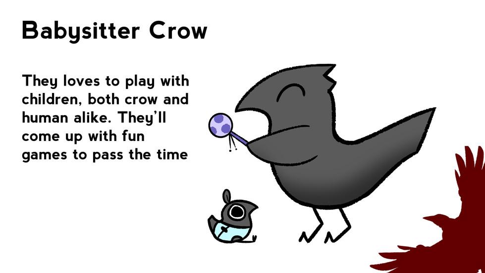 Babysitter Crow