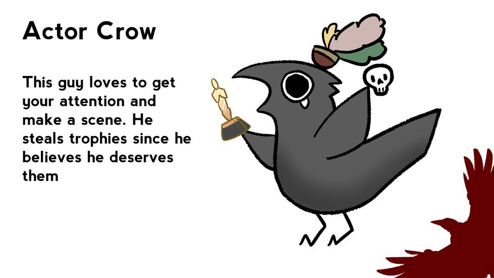 Actor Crow