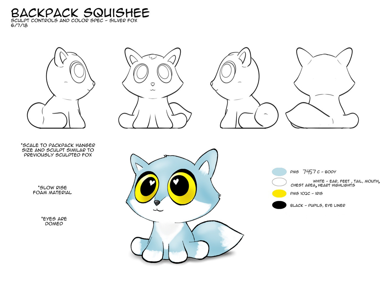 Black Fox Revisions