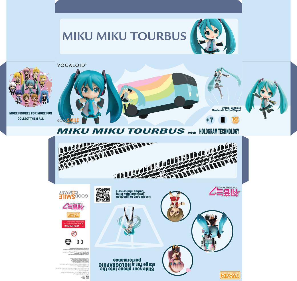 Miku Miku Bus Packaging Mini