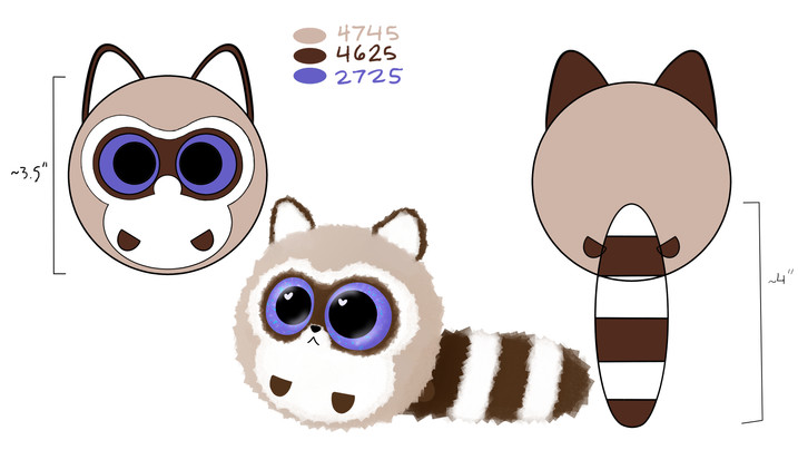 Spec Sheet Raccoon
