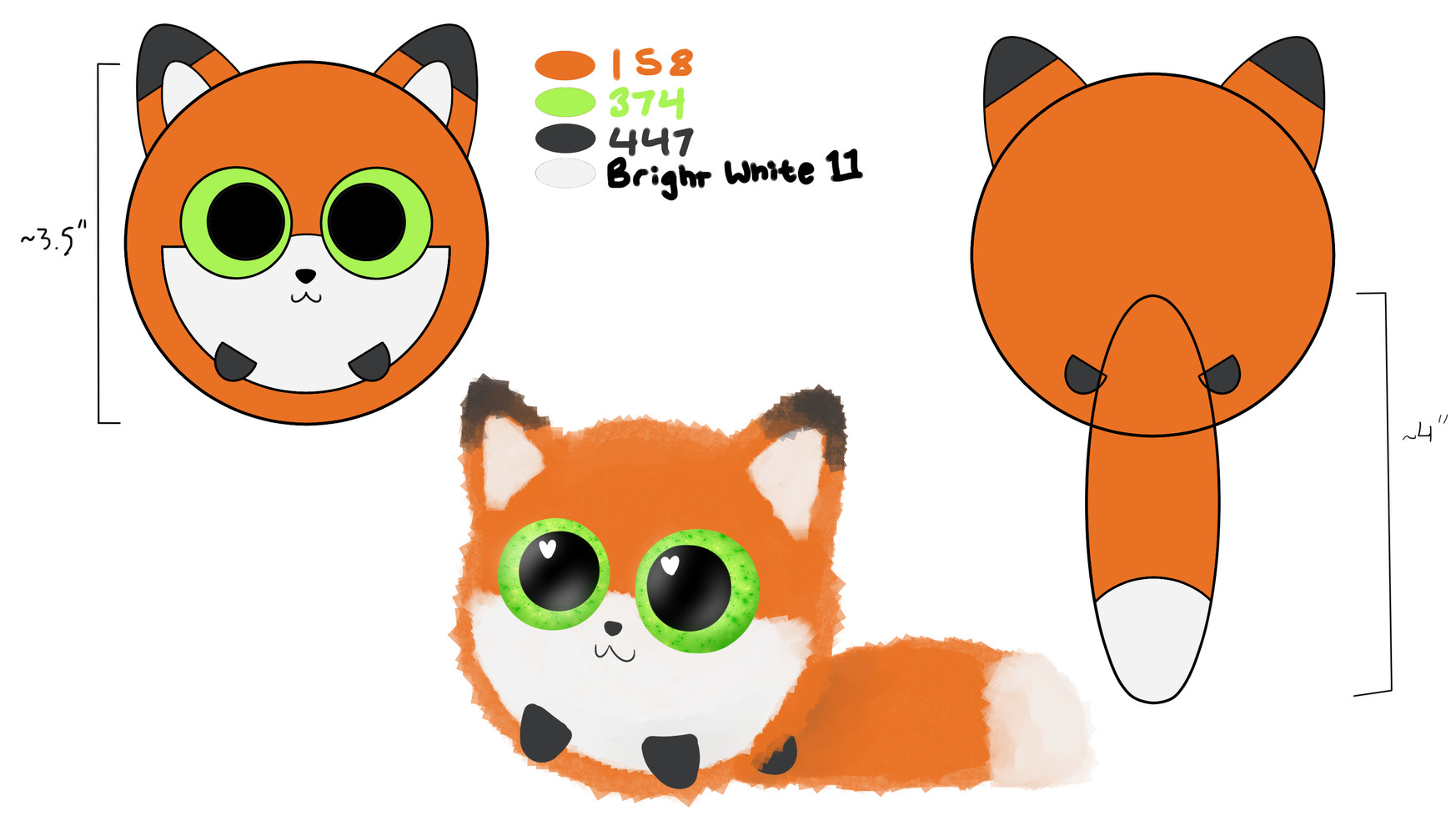 Spec Sheet Fox