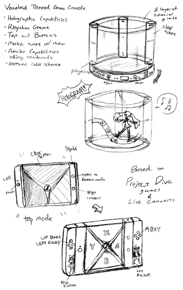 Hologram Console Concept