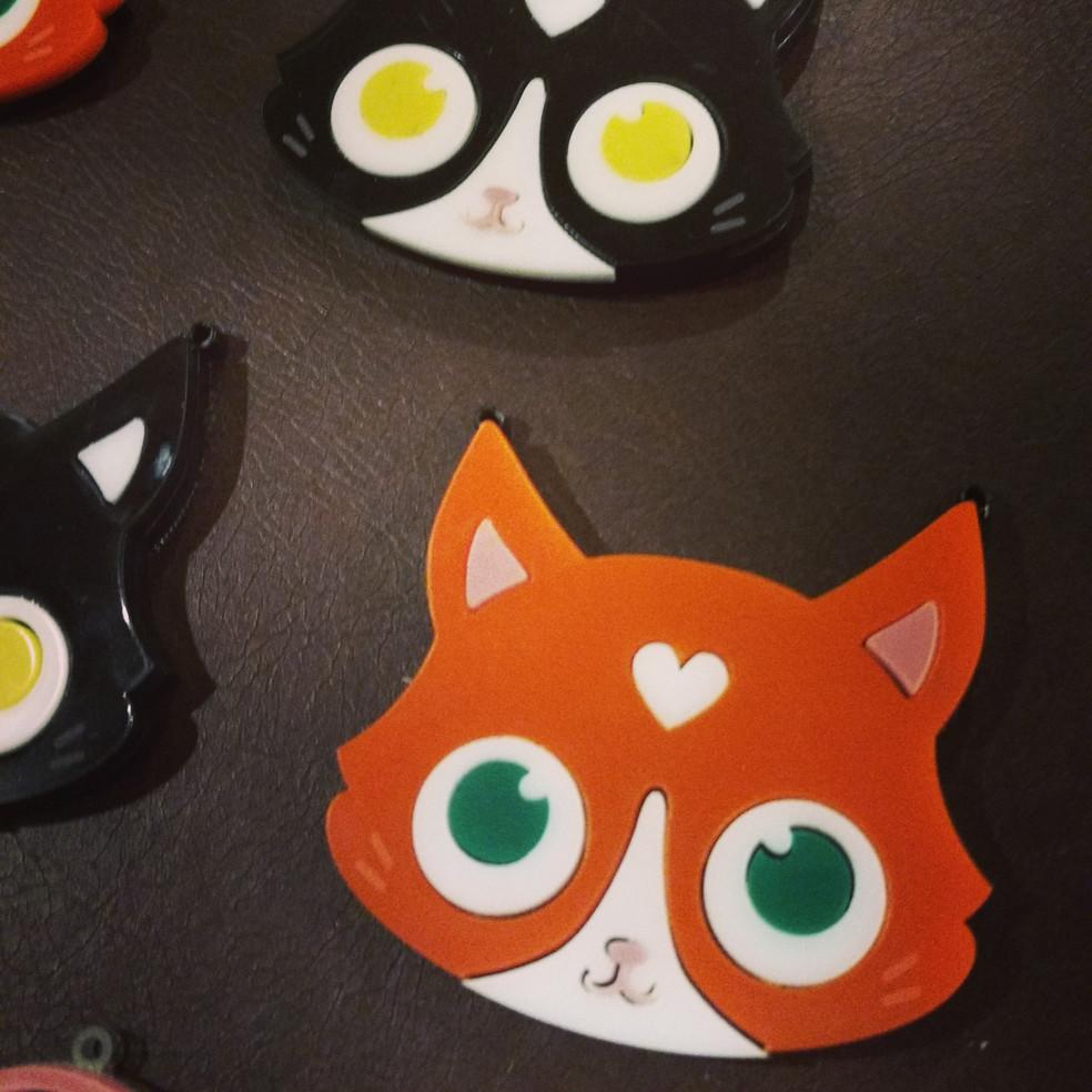 Laser Cut Cats