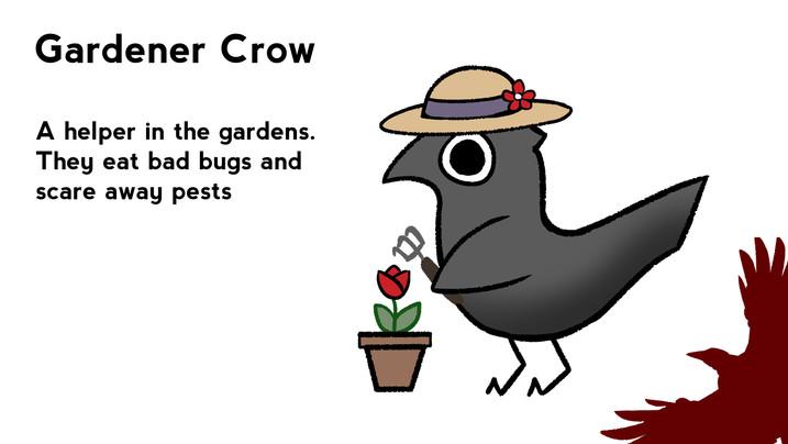 Gardener Crow
