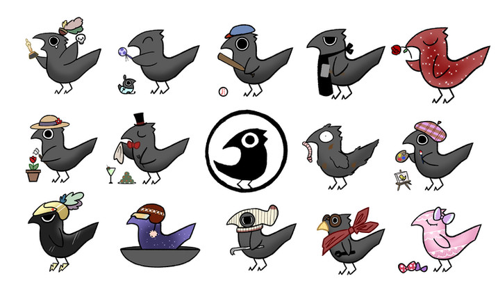 Crows have shown to be very intellegent,