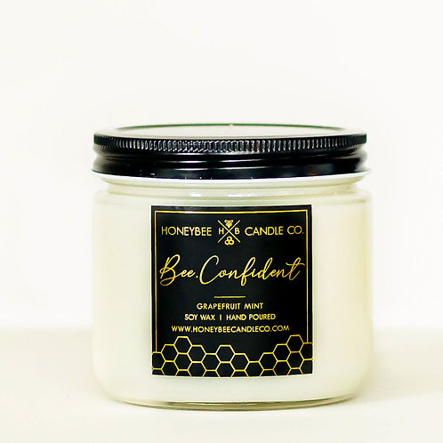 Bee.Confident Candle