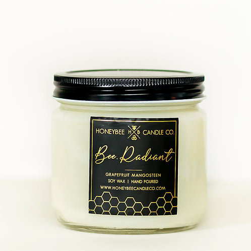 Bee.Radiant Candle