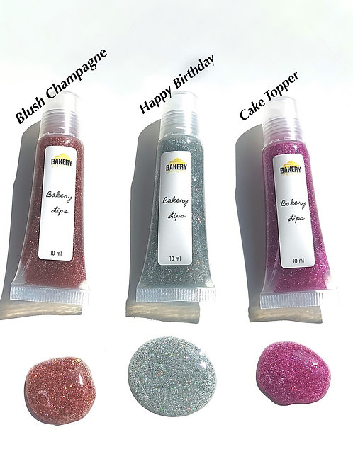 Bakery Lips - Holographic Glitters