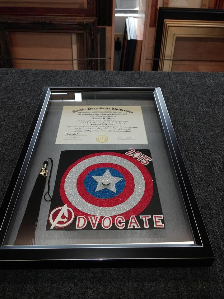 Graduation memorabilia