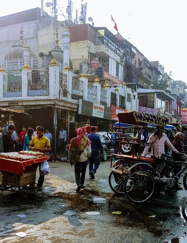 downtown Dehli