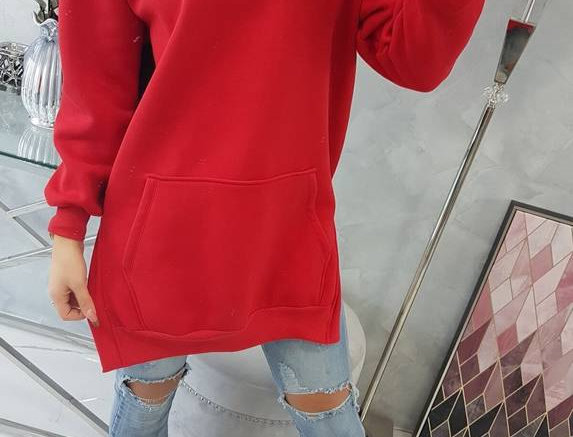 Jinx  Contrasted Lounge Hoodie With Pockets