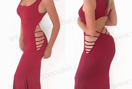 Amelia Backless Maxi Dress