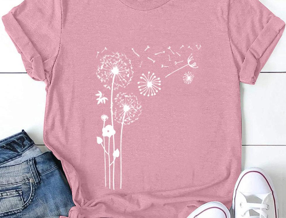 Dandelion Printed T-shirt