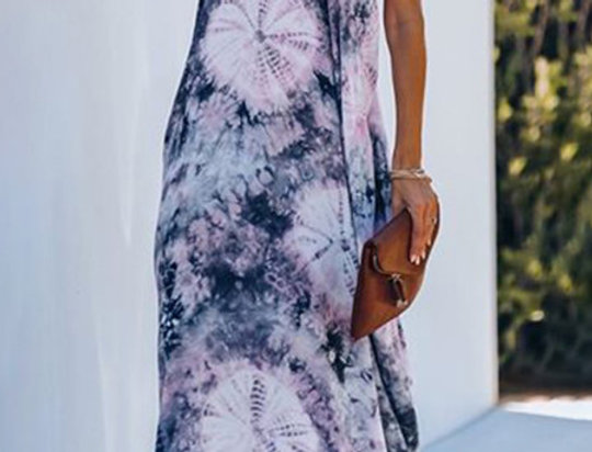 Dominique Sling Oversized Boho Maxi Dress
