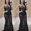 Thumbnail: Camille Sheer Lace Evening Bodysuit Dress