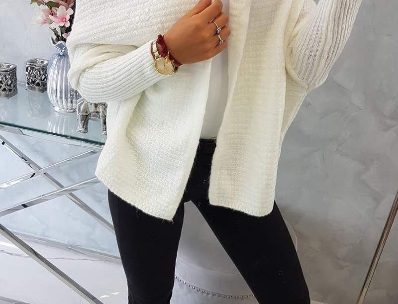 Nelly Batwing Oversized Knitted Cardigan