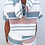 Thumbnail: Kay Striped Crop Top Shorts Lounge  Summer Set