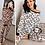 Thumbnail: Maple Leopard Print Top Pants PJ Lounge Set