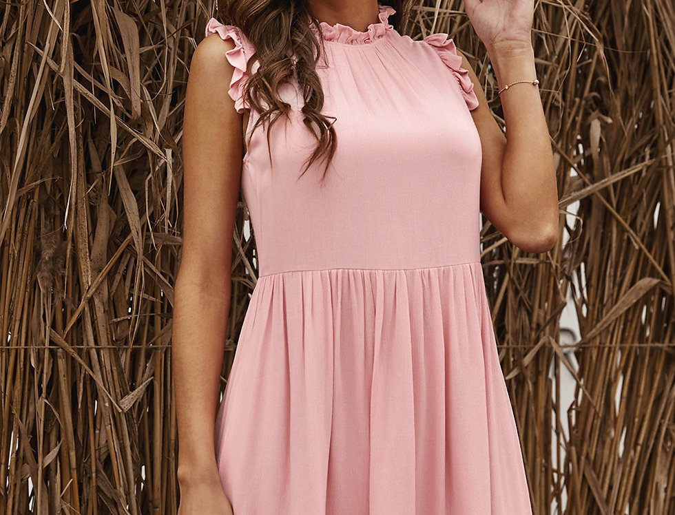 Louise Frill Babydoll Summer Dress
