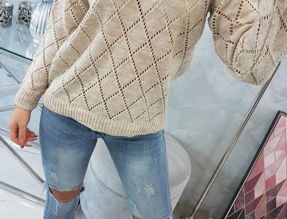Jane Diamond Knitted Sweater